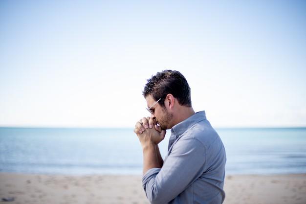 MAN AT THE SEA