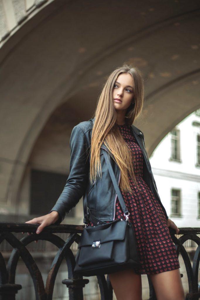 GIRL BAG DRESS
