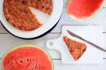 WATERMELON PIE PLATE