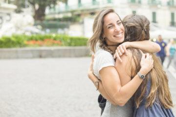 WOMAN HUG