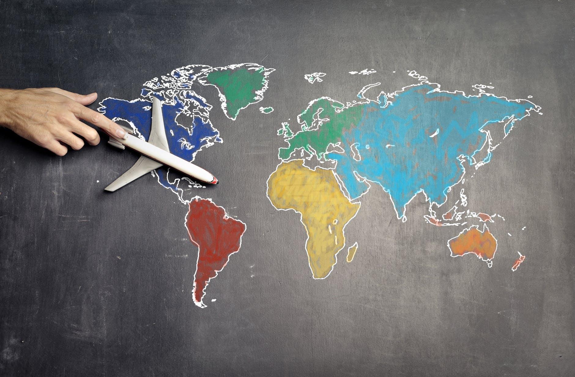 AEROPLANE MAP