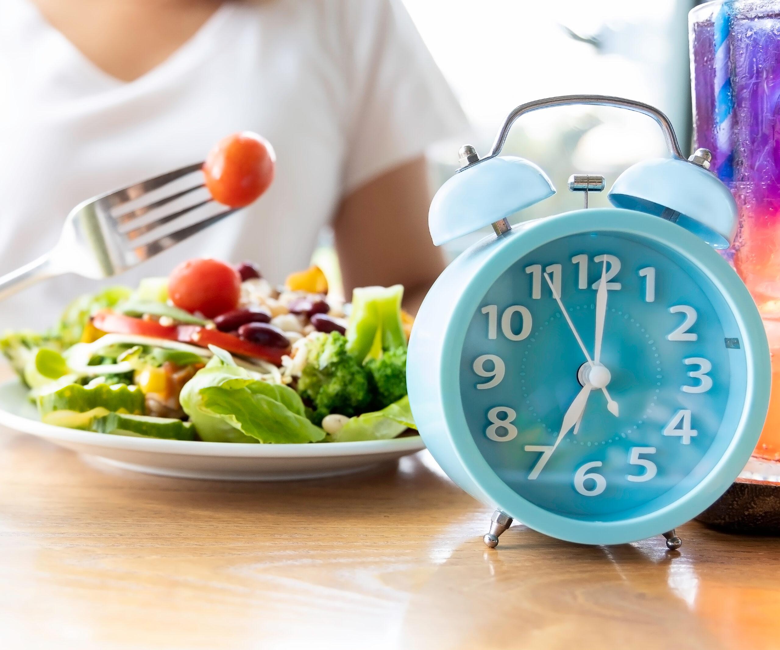 FOOD AND CLOCK